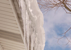 Ice Damming Madison WI